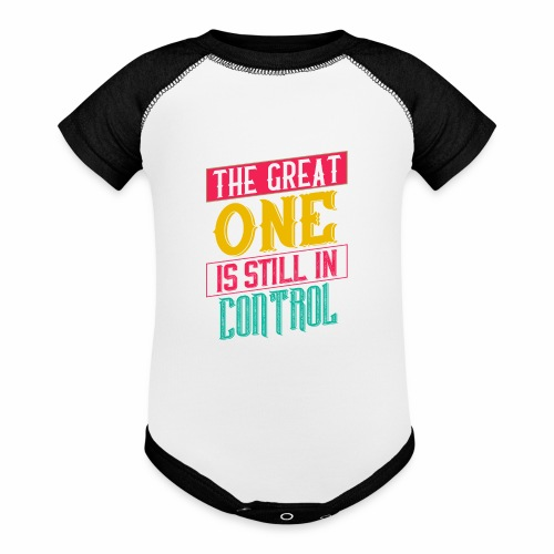 THE GREAT ONE - BRIGHT - Baseball Baby Bodysuit