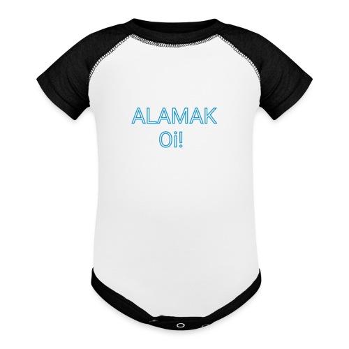 ALAMAK Oi! - Baseball Baby Bodysuit