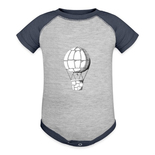 lead balloon - Baseball Baby Bodysuit