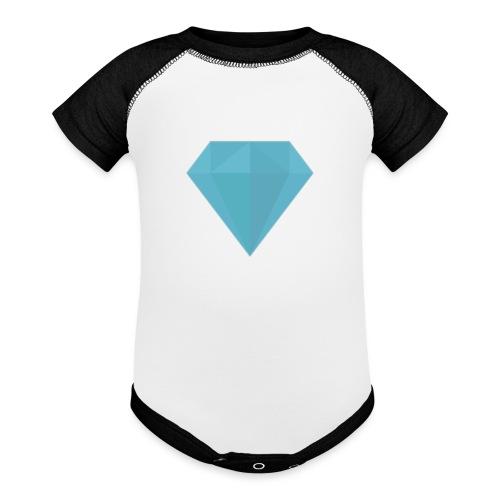 Baby Diamond suit - Baseball Baby Bodysuit