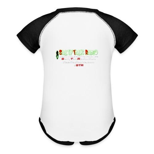 str back png - Baseball Baby Bodysuit