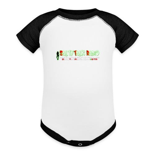 str front png - Baseball Baby Bodysuit