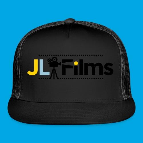 JL Films Logo Black - Trucker Cap