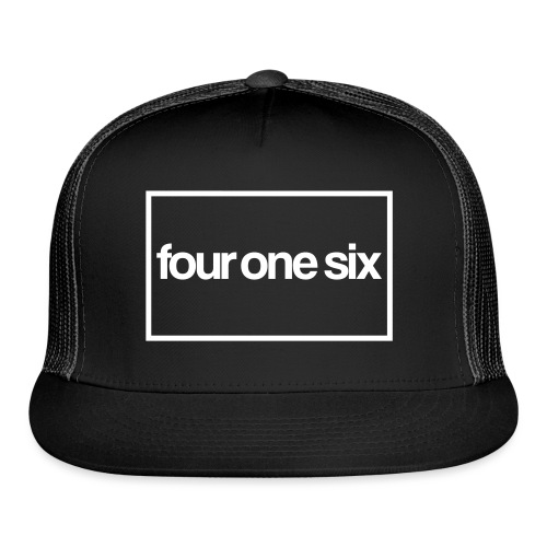 four one six - horizontal - Trucker Cap