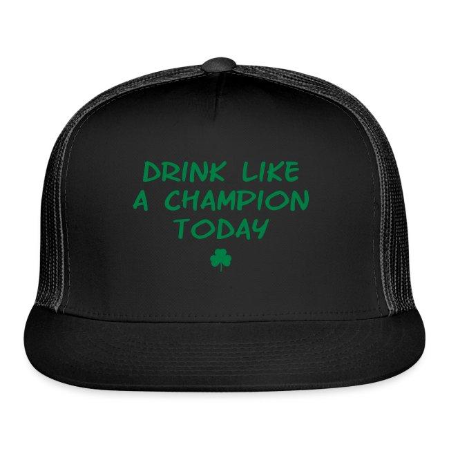 Drink Like A Champion Shamrock