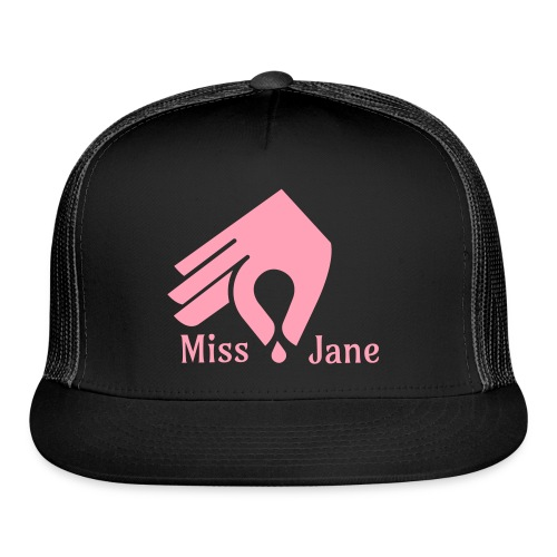 Miss Jane Seed - Pink Caps - Trucker Cap