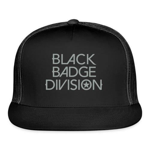 Black Badge Division Caps, Hats and Bandanas - Trucker Cap