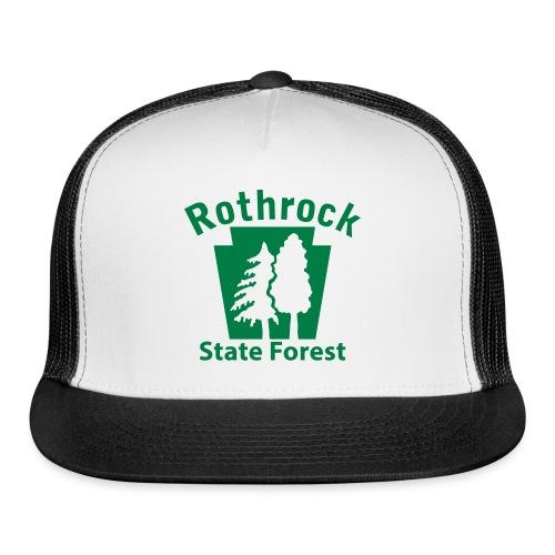 Rothrock State Forest Keystone (w/trees) - Trucker Cap