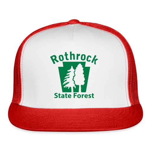 Rothrock State Forest Keystone (w/trees) - Trucker Cap