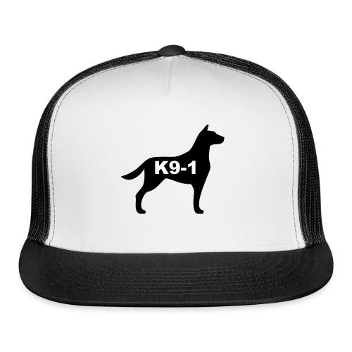 k9-1 Logo Large - Trucker Cap