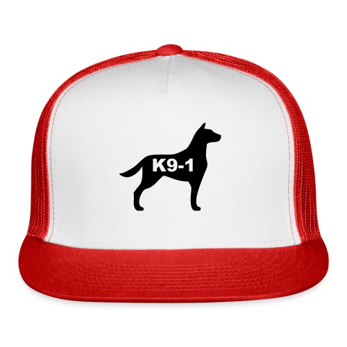 k9-1 Logo Large - Trucker Cap