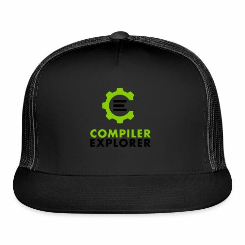 Logo and text - Trucker Cap