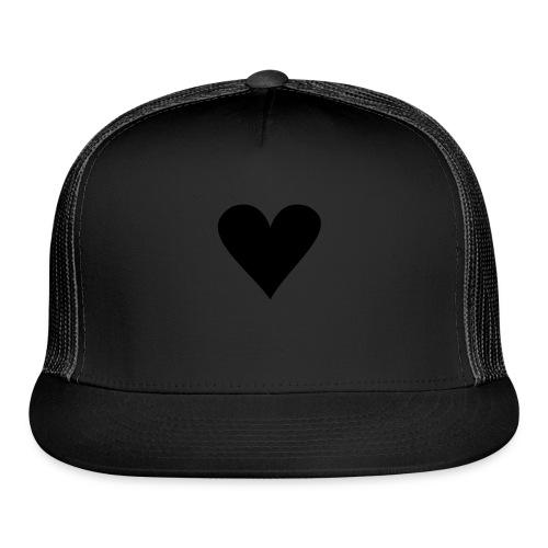 black heart - Trucker Cap