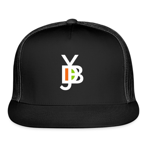 Jybd white 3 color - Trucker Cap