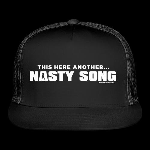 Lil Ru - Nasty Song (white) - Trucker Cap