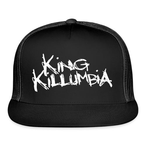 King Killumbia White Logo - Trucker Cap
