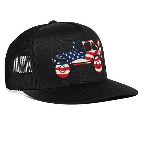 American Patriotic Off Road 4x4 - Trucker Cap