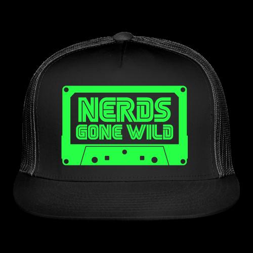 Nerds Logo Cassette Green - Trucker Cap