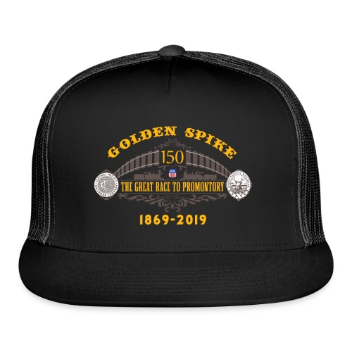 Golden Spike Color UP Logo - Trucker Cap