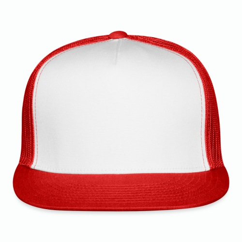 #XQZT Logo Snow White - Trucker Cap