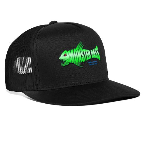 Monster bass fishing charters - Trucker Cap