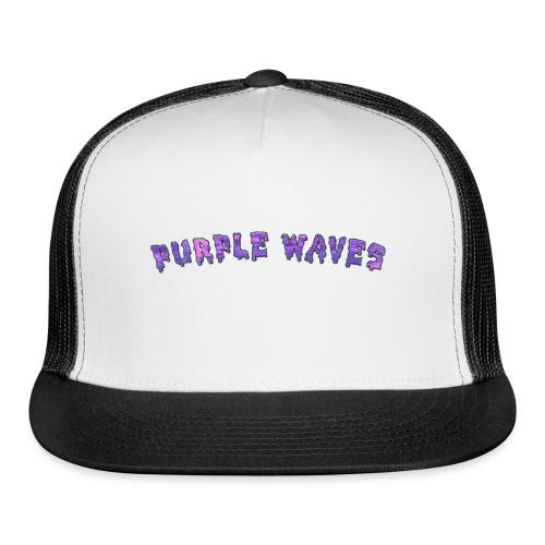 Purple Waves - Trucker Cap