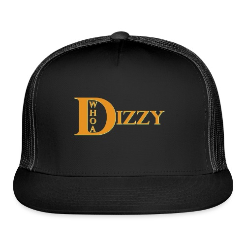 Whoa Dizzy Halloween Colors - Trucker Cap