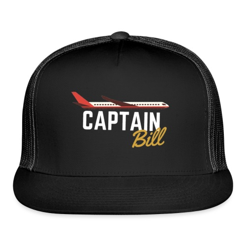 Captain Bill Avaition products - Trucker Cap