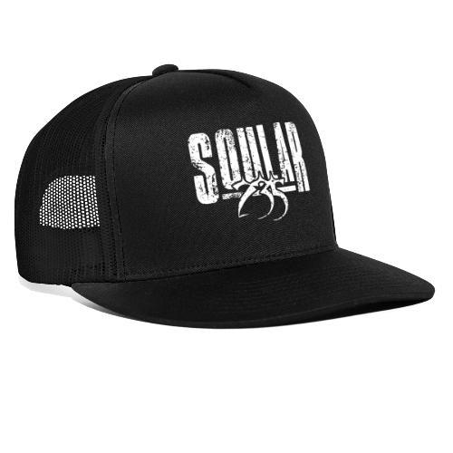 Soular235 White Logo - Trucker Cap