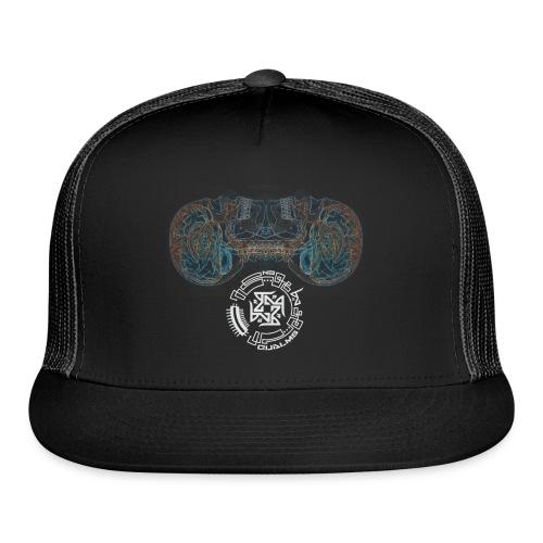 brain x raygimpedddmirroorrredwithlogo2 png - Trucker Cap