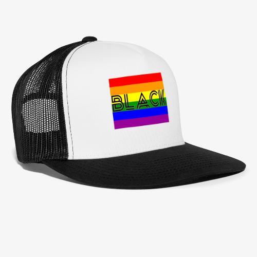 Black LGBTQ - Trucker Cap