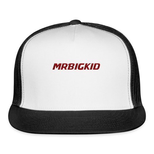 MrBigKid Textured Logo - Trucker Cap