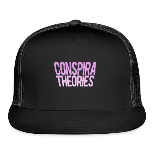 Women's - ConspiraTheories Official T-Shirt - Trucker Cap