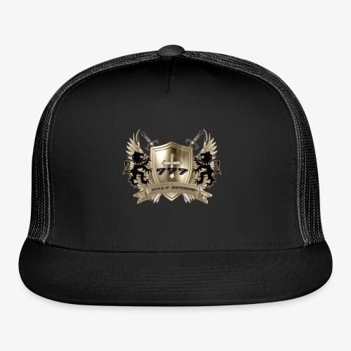 HOLY SPIRIT GOLD SHIELD - Trucker Cap