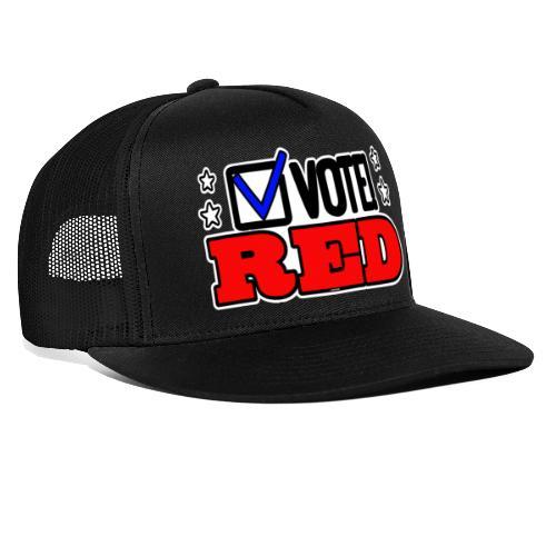 VOTE RED - Trucker Cap