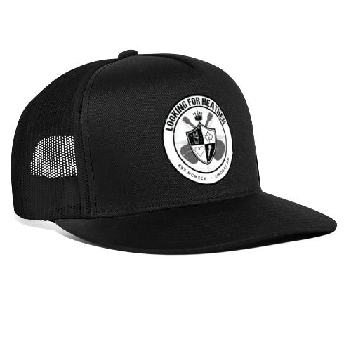 Looking For Heather - Crest Logo - Trucker Cap