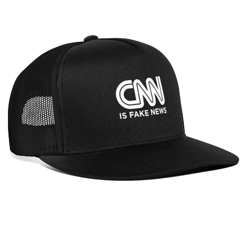 CNN Is Fake News - Trucker Cap