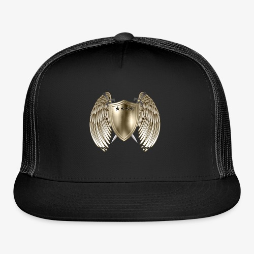 GOLD SHIELD-21 - Trucker Cap