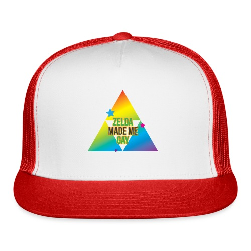 Zelda Made Me Gay - Trucker Cap