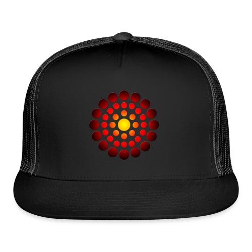 campfire symbol - Trucker Cap