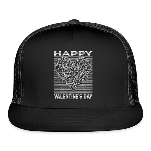 Love Lines Happy Valentines Day Heart - Trucker Cap