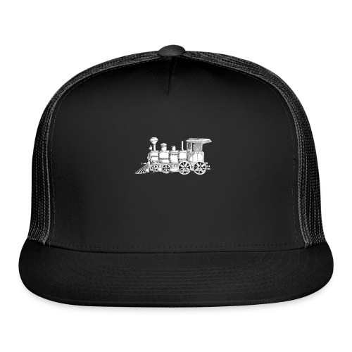 steam train - Trucker Cap