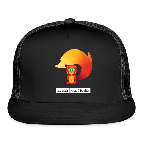 Foxr Sitting (white MR logo) - Trucker Cap