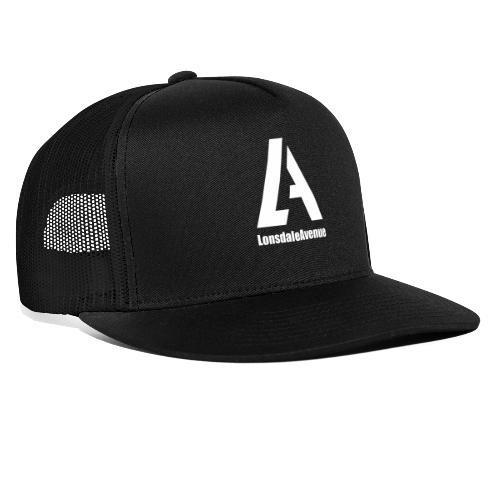 Lonsdale Avenue Logo White Text - Trucker Cap