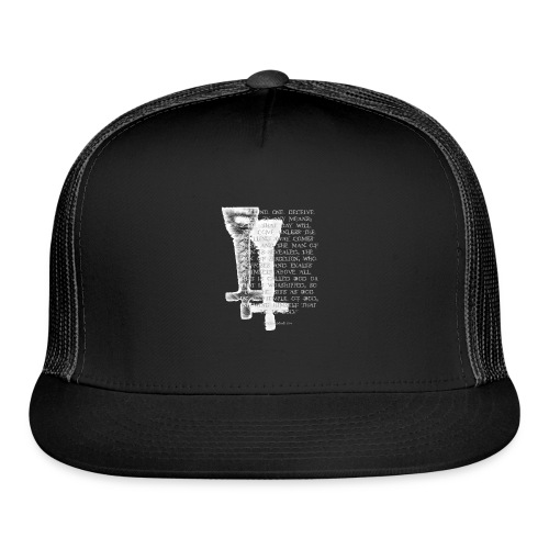 Antichrist design 1 - Trucker Cap