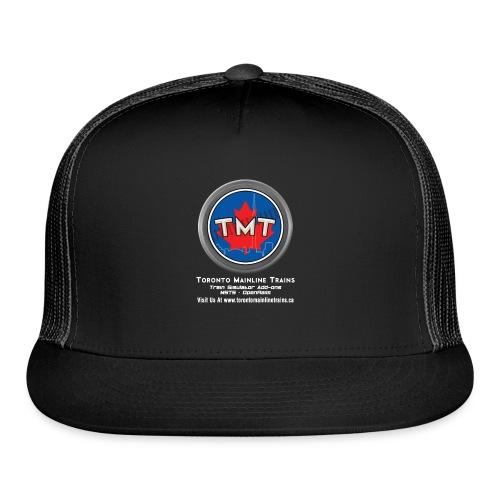 TMT White Letter Version2 - Trucker Cap