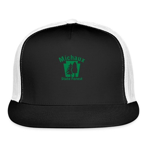 Michaux State Forest Keystone (w/trees) - Trucker Cap