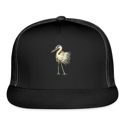 Great Blue Heron - Trucker Cap