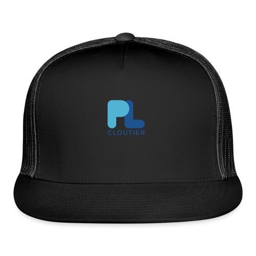 Logo_PLCloutier_BB_RGB - Trucker Cap