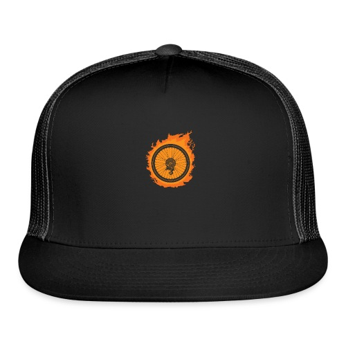 Bike Fire - Trucker Cap